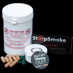 stop smoking, quit smoking, fibre-quit caps,natural,safe